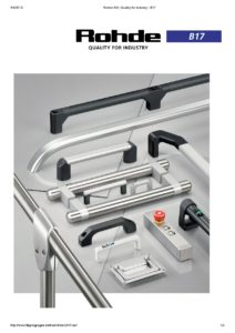 Rohde Katalog